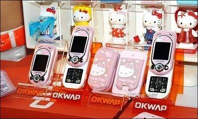 Teléfono de Hello Kitty