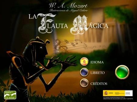 La Flauta mágica de Mozart para el iPad en una nueva creación de Touch of Classic