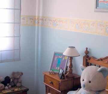 Pintura especial para la habitación del bebé