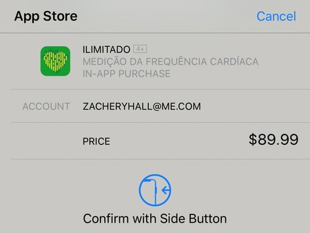 Confirmar Touch Id
