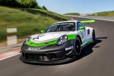 El Porsche 911 GT3 R es un nueve once que sólo puede correr en circuitos
