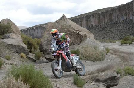 Sanz Etapa10 Dakar2015