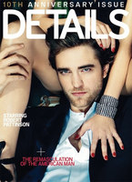 Robert Pattinson en la sesión más provocativa de la revista Details