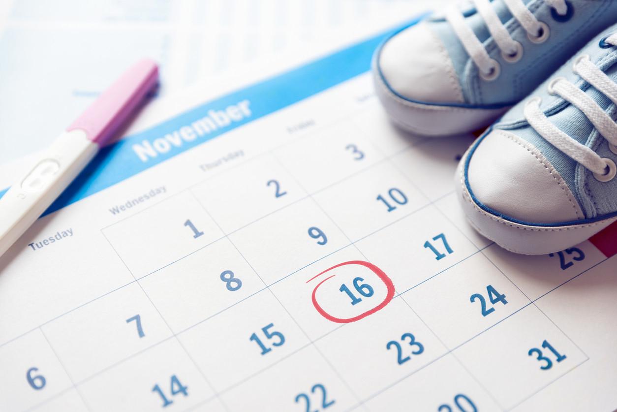 calendario para calcular ciclo menstrual