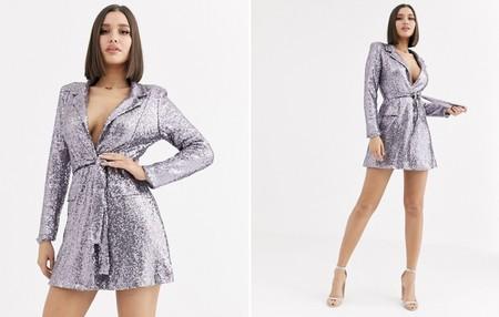 Prendas Lentejuelas Navidad 2019 Vestido 01
