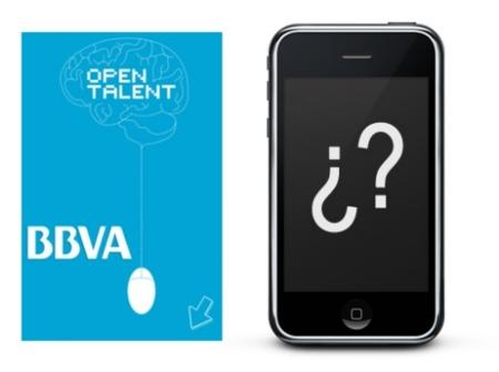 BBVA Open Talent, la mejor aplicación desarrollada para iPhone o Android obtendrá 10000 euros de premio