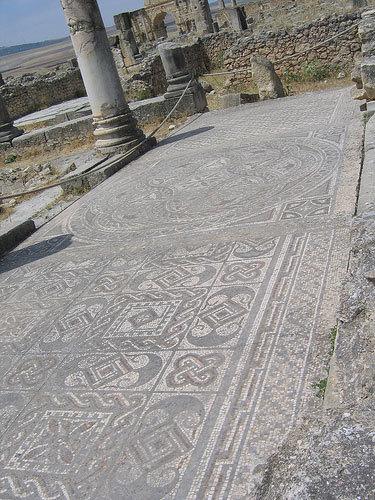 Volubilis mosaicos