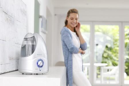 Humidificadores con los que mejorar la calidad del aire en casa desde 14,99 euros
