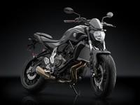 Rizoma apuesta todo al negro con la Yamaha MT-07