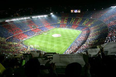 Listado provisional de estadios para 'Pro Evolution Soccer 2008'