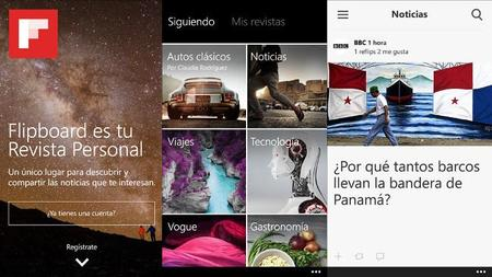 Flipboard y sus revistas personalizadas ya están disponibles en Windows Phone 8.1