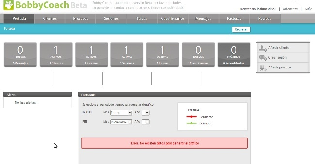 BobyCoach, una aplicación para facilitar la relación entre el formador y los clientes