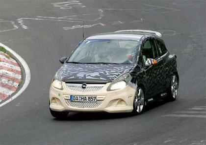 Fotos espías del Opel Corsa OPC