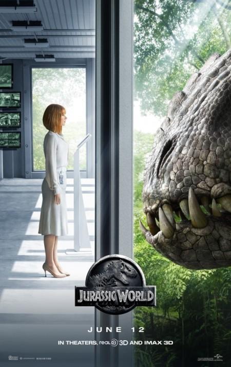 Bryce Dallas Howard en un nuevo póster de Jurassic World