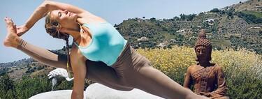 Así puedes practicar Yoga con Patricia Montero y conseguir hacer posturas de equilibrio imposibles
