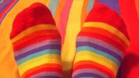 La dureza de la economía sumergida representada en un par de calcetines