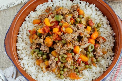 Picadillo de ternera a la mexicana: receta