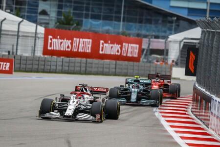 Raikkonen Rusia F1 2021