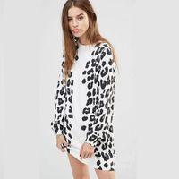 Bienvenida la primavera: vestido con estampado de leopardo Diesel por 75,99€ y envío gratis en Asos