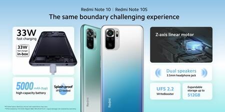 Xiaomi Redmi Note 10 Note 10s Oficial Caracteristicas Tecnicas