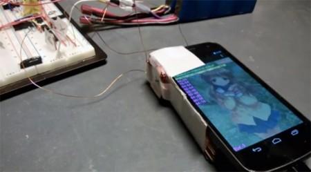 Pulse, transmitiendo datos a través de la brújula magnética del móvil