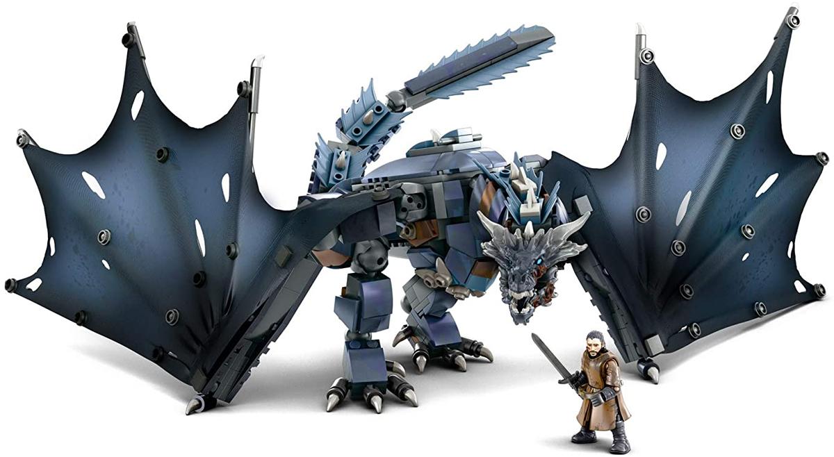 Mega Construx - 'Game of Thrones' Ice Viserion de 492 piezas