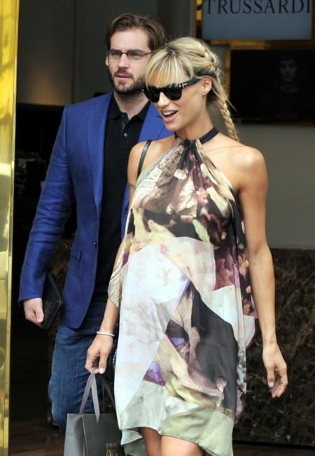 ¿Se puede lucir un vestido premamá más ideal que el de Michelle Hunziker?
