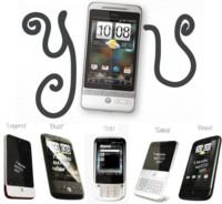 Los teléfonos de HTC para la primera mitad de 2010, mayoría Android