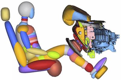 Ford quiere cuidar nuestras rodillas con un nuevo sistema de airbag