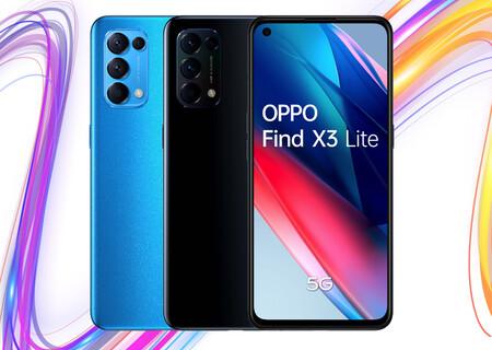 OPPO Find X3 Lite 5G: el 'pequeño' de los X3 carga a toda velocidad y tiene potencia para casi todo