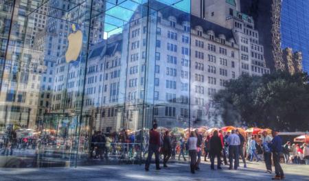 La emblemática Apple Store de la quinta avenida en Nueva York cerrará por reformas