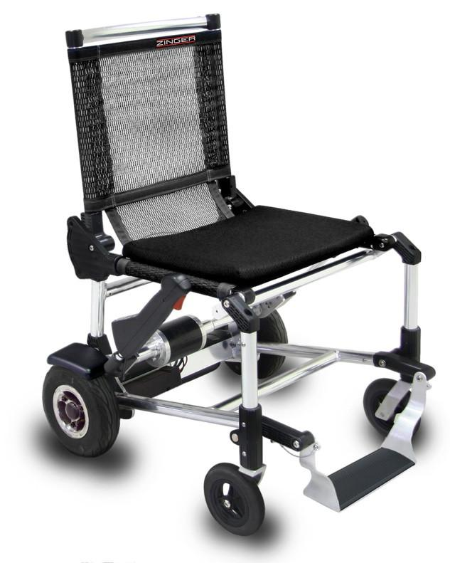 Zinger una silla de ruedas el ctrica y plegable - Sillas de ruedas plegables y ligeras ...
