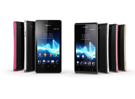 Sony Xperia V y Xperia J, los dos androides complementarios