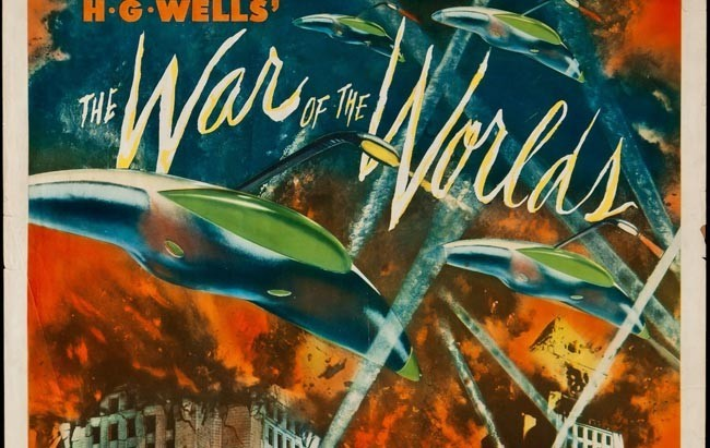 La guerra de los mundos cartel