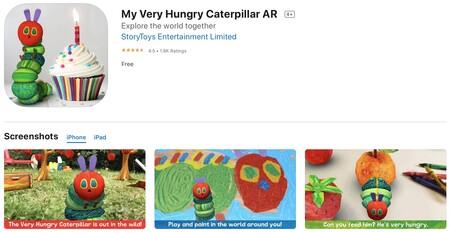 my very hungry catterpillar ar