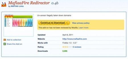 Crean una extensión para Firefox para saltarse el bloqueo de Roja Directa de Estados Unidos
