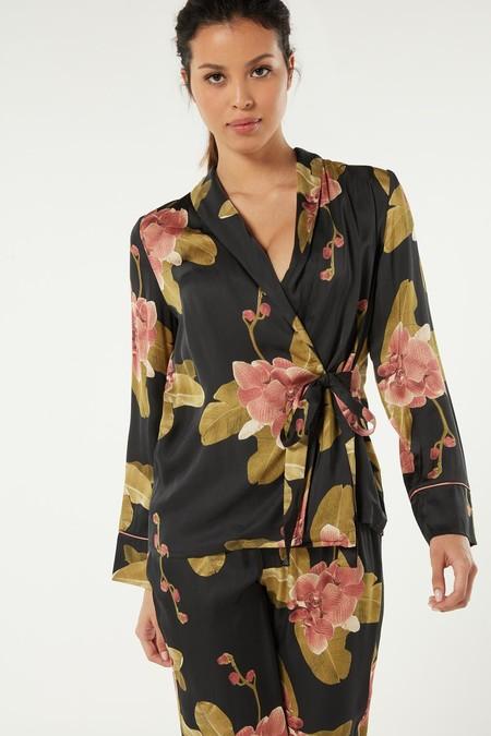 Cld1380 Wear 342i FiChaqueta de Raso de Viscosa Dark Orchid
