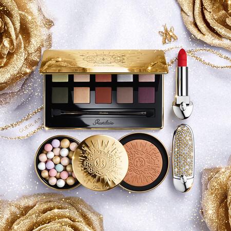 El maquillaje de la colección limitada de Navidad 2020 de Guerlain se puede comprar desde ya mismo y está lleno de brilli brilli para una piel más luminosa