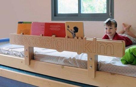 Originales barreras de seguridad para camas infantiles de Tambino