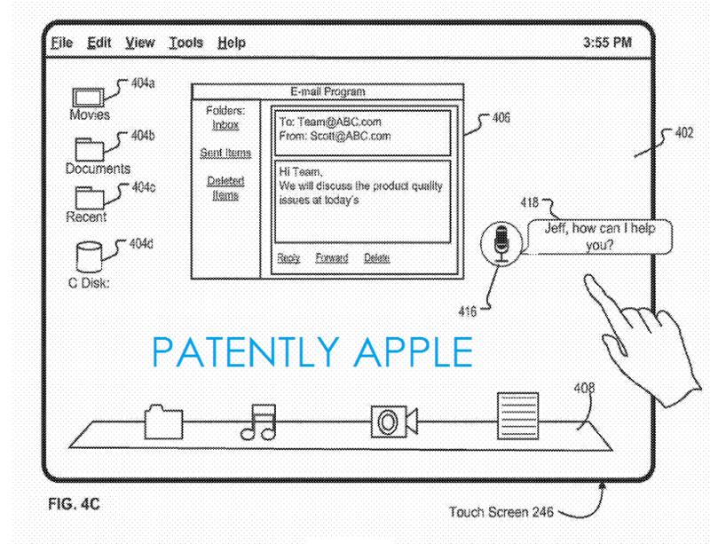 Foto de Patente de Siri para OS X (1/17)