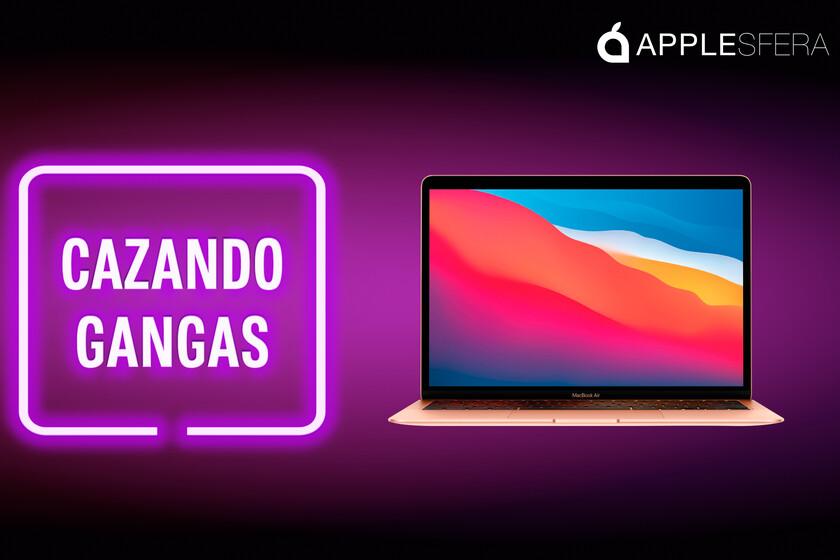El flamante MacBook Air M1 a menos de 1000 euros y el iPhone 12 de 128 GB con 180 euros de descuento: Cazando Gangas