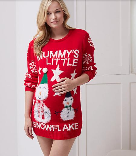 Las prendas más divertidas para tus looks navideños (premamá)