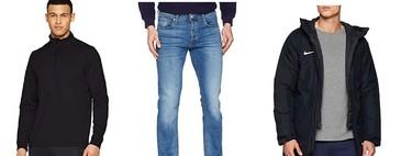 Chollos en tallas sueltas de pantalones, abrigos y sudaderas de marcas como Levi's, Nike, Jack & Jones y Under Armour en Amazon