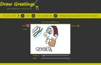 Drawgreetings, dibujando a mano alzada y enviando el resultado por email