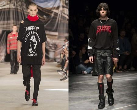 El Punk Y La Subcultura Gotica Se Apoderan Del Total Black Look De Este Verano 2