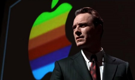 Steve Jobs Michael Fassbender Apple Logo