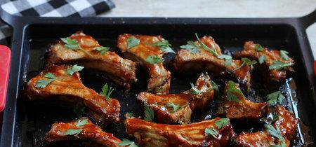 Costillas barbacoa al estilo oriental, receta para sorprender