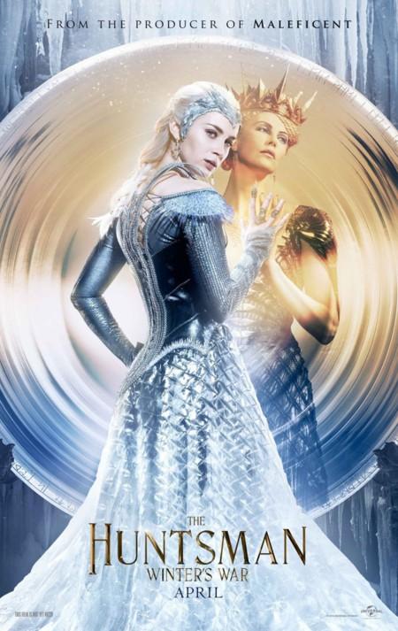 Otro póster de El Cazador y la Reina de Hielo