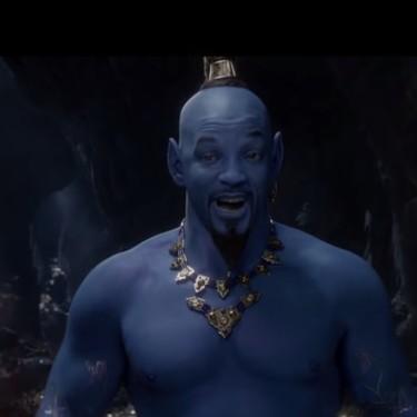 Tráiler del nuevo 'Aladdin' de carne y hueso, con Will Smith muy azul en el papel de Genio