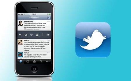 Twitter lanza el cliente oficial de su servicio para el iPhone e iPod touch